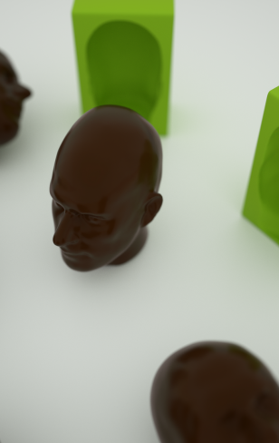 Unlimited 3D chocolate copies